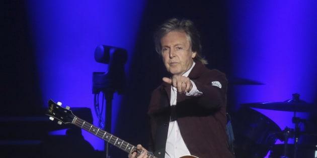 """Paul McCartney s'est rendu sur la tombe de Johnny Hallyday, """"un chouette type"""" (Photo d'illustration)"""
