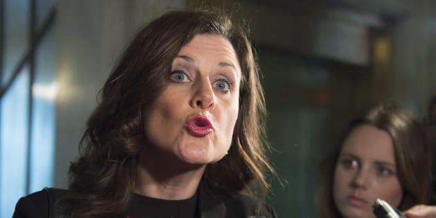 La ministre québécoise de la Justice, Stéphanie Vallée.