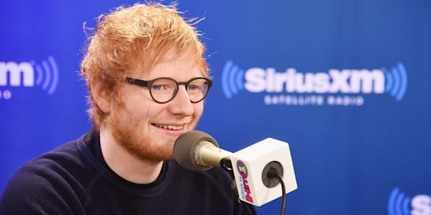 NEW YORK, NY - JANUARY 13:  Musician Ed Sheeran visits SiriusXM Studios on January 13, 2017 in New York City.  (Photo by Michael Loccisano/Getty Images)