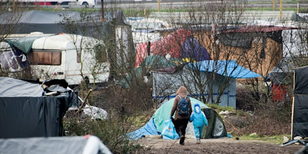 Children living in refugee camps in northern France are being subjected to sexual exploitation, violence and forced labour on a daily basis, a Unicef report reveals (stock image)