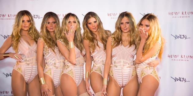 Heidi and her clones.