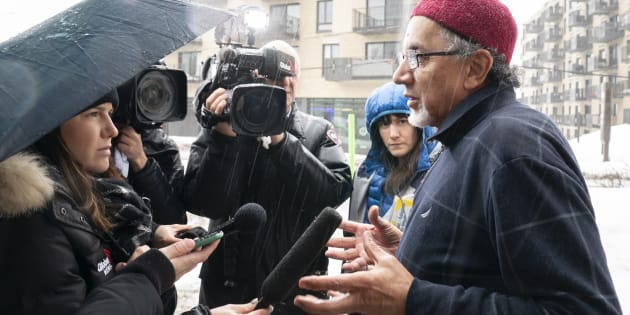 Le président du Centre culturel islamique de Québec, Boufeldja Benabdallah, évoque une douleur indescriptible.