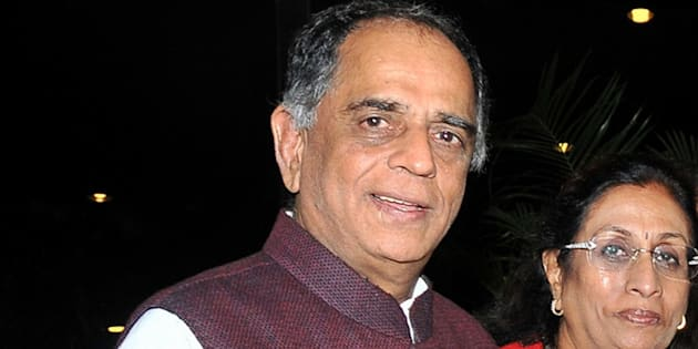 File photo of Pahlaj Nihalani, chairperson of Central Board of Film Certification (CBFC).