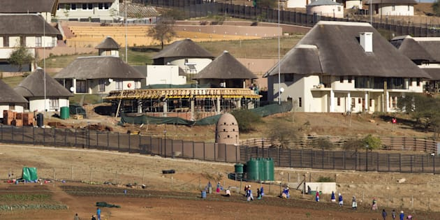 A general view of the Nkandla home  of South Africa's President Jacob Zuma.