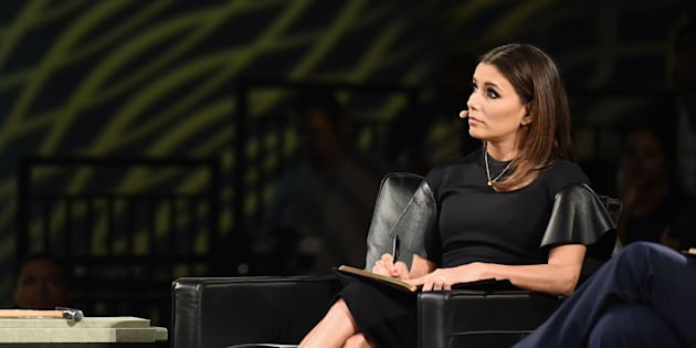 NEW YORK, NY - JULY 14:  Judge, Eva Longoria on stage at Chivas' The Venture Final Event on July 14, 2016 in New York City.  (Photo by Michael Loccisano/Getty Images for Chivas The Venture)