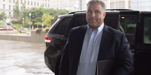 Le nouveau leader parlementaire de l'opposition officielle, Sébastien Proulx.