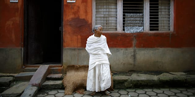 When a woman in Nepal loses her husband, she often wears white clothes. The culture also requires widows to shun merriment and live in virtual seclusion.