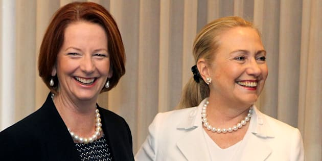 Former Australian Prime Minister Julia Gillard has urged Americans to condemn sexism in the 2016 US election.