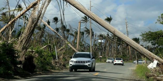 L'ouragan Maria a fait plus de 4600 morts à Porto Rico et non pas 64, selon un bilan indépendant.