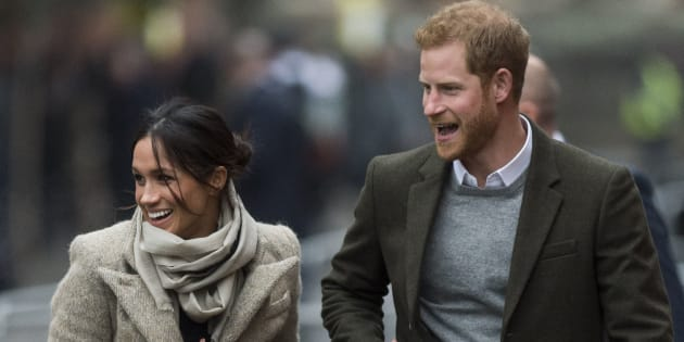 Crowds greet Harry and Meghan in London's buzzing Brixton