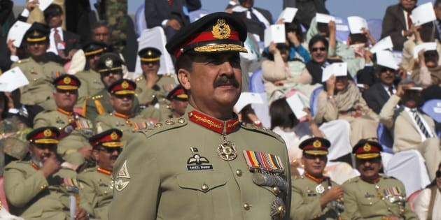 Pakistan's army chief General Raheel Sharif attends the change of command ceremony in Rawalpindi November 29, 2013. REUTERS/Mian Khursheed
