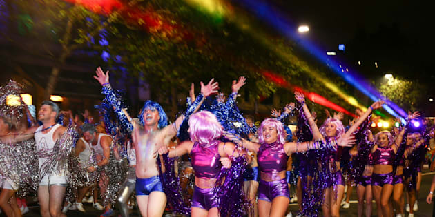 Sydney really turned it on for Mardi Gras on Saturday night.
