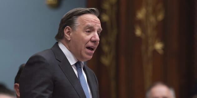 Francois Legault, chef de la Coalition Avenir Québec.
