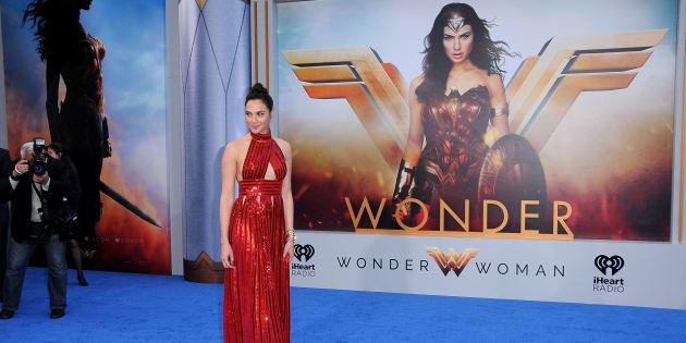 """Gal Gadot, la protagonista de la nueva película de acción """"Mujer Maravilla""""."""