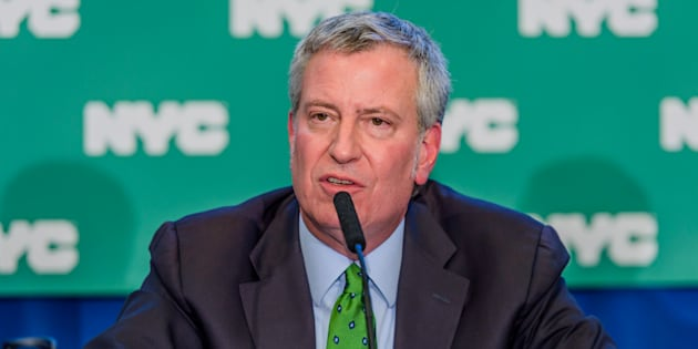 Le maire de New York, Bill de Blasio.