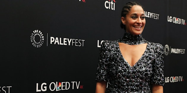 Tracee Ellis Ross attends 'Black-ish' at The Paley Center for Media on October 9, 2017 in New York City.  (Rob Kim/Getty Images)