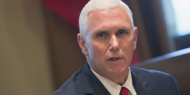 U.S. Vice President Mike Pence speaks to the media at the White House on Sept. 7, 2017 in Washington, D.C.
