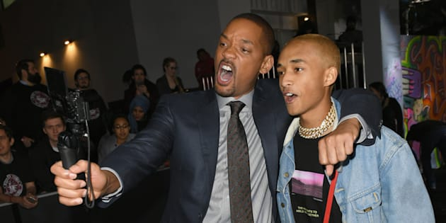 Watch Will Smith hilariously recreate his son Jaden Smith's 'Icon' music video