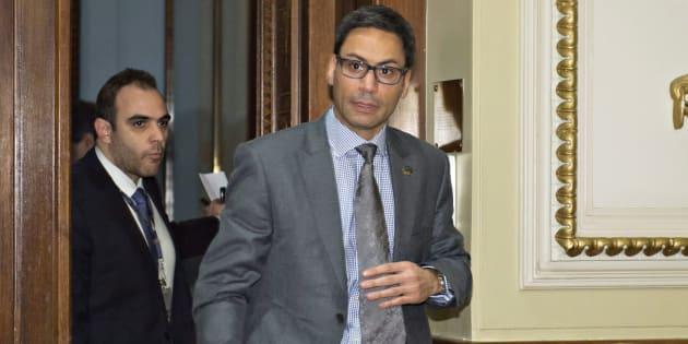 Le député de Laurier-Dorion, Gerry Sklavounos, aurait entretenu une relation inappropriée avec une jeune militante.