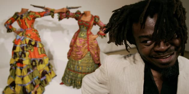 British-born Nigerian artist Yinka Shonibare will show at the Goodman Gallery in South Africa this year.