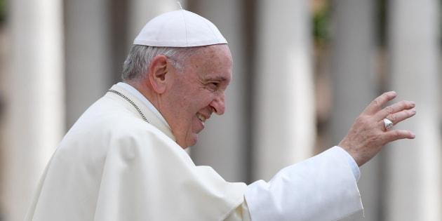 El Papa Francisco, tras su audiencia general del pasado 16 de mayo en el Vaticano.