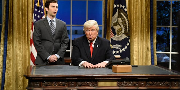 "There's no shortage of material at ""SNL"" this season when it comes to Donald Trump."