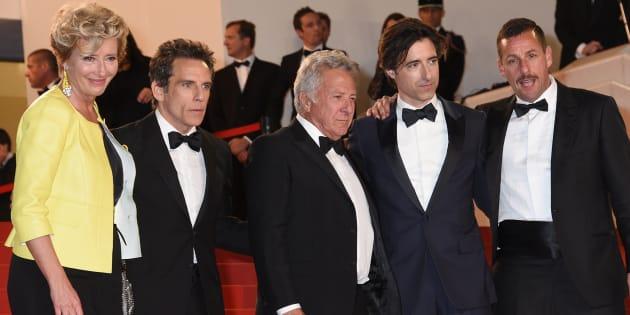 Filme 'The Meyerowitz Stories' reúne Emma Thompson, Ben Stiller, Dustin Hoffman, Noah Baumbach (diretor) e Adam Sandler.