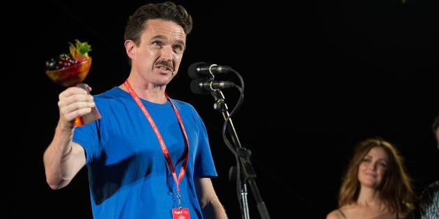 Matt Day has taken first prize at the 2017 Tropfest short film festival in Sydney.