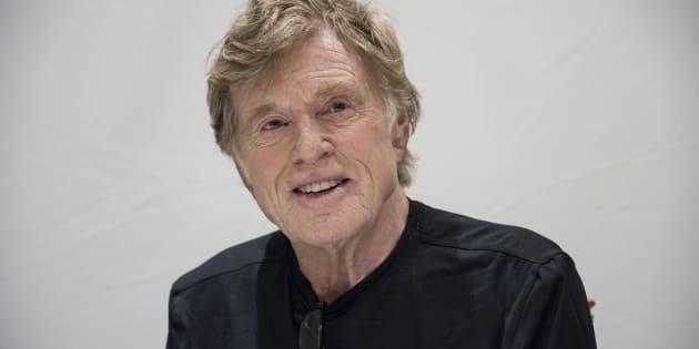 """Robert Redford en septembre dernier, à l'occasion d'une conférence de presse à Toronto pour promouvoir son dernier film, """"The Old Man & the Gun"""", réalisé par David Lowery."""