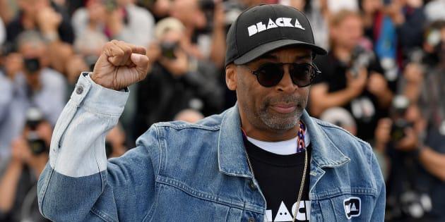 Spike Lee à Cannes le 15 mai 2018.