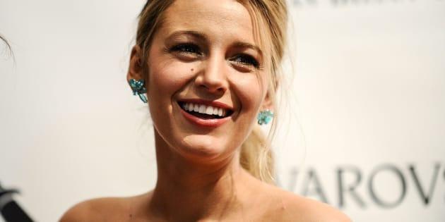 La actriz Blake Lively en una gala en Nueva York en mayo de 2017.
