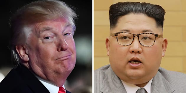 Donald Trump / Kim Jong Un.