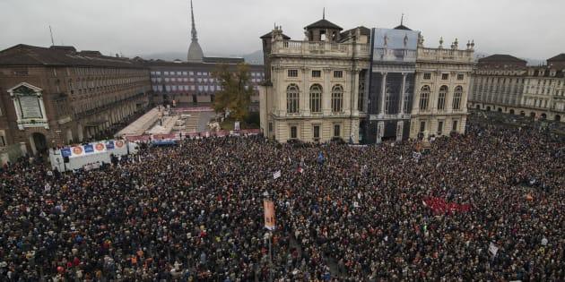 La Piazza di Torino chiede un partito che ancora non c