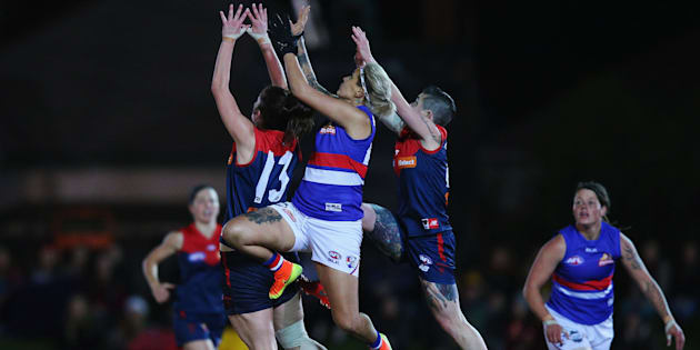 The AFL Women's Exhibition Match between the Western Bulldogs and the Melbourne Demons drew in more than one million viewers in September.