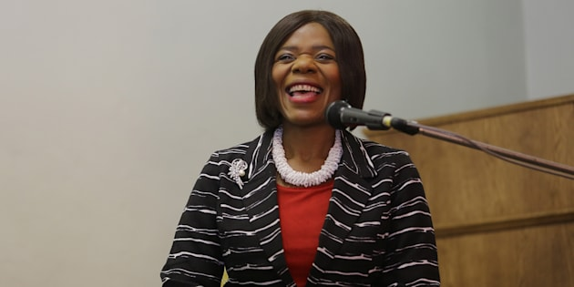 Former Public Protector Thuli Madonsela during a media conference at the Cape Town Press Club on January 16, 2017. (Photo by Ruvan Boshoff/Sowetan/Gallo Images/Getty Images)