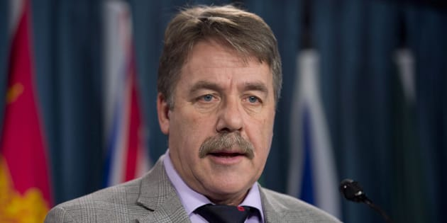 Peter Stoffer speaks during a news conference on Parliament Hill on Dec. 9, 2014.