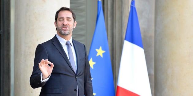 Christophe Castaner à l'Elysée le 17 janvier 2018.