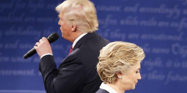 Le deuxième débat entre Hillary Clinton et Donald Trump