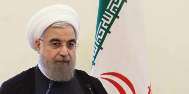 """Affrontement Iran-Israël: Rohani affirme qu'il ne veut pas de """"nouvelles tensions"""" au Moyen-Orient."""