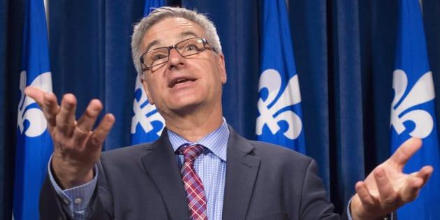 Jean-Marc Fournier, leader parlementaire du gouvernement Couillard.