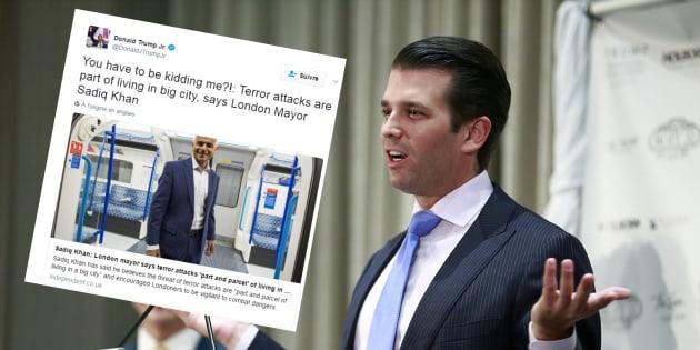 Donald Trump Jr. a-t-il voulu concurrencer son père avec ce tweet polémique sur l'attentat de Londres?