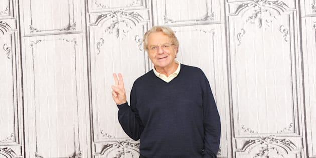 NEW YORK, NY - MAY 19:  Iconic television host Jerry Springer attends AOL Build Presents Jerry Springer to discuss 25 years of his TV show on May 19, 2016 in New York, New York.  (Photo by Desiree Navarro/WireImage)