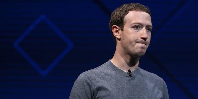 Presidente de Facebook, Mark Zuckerberg.