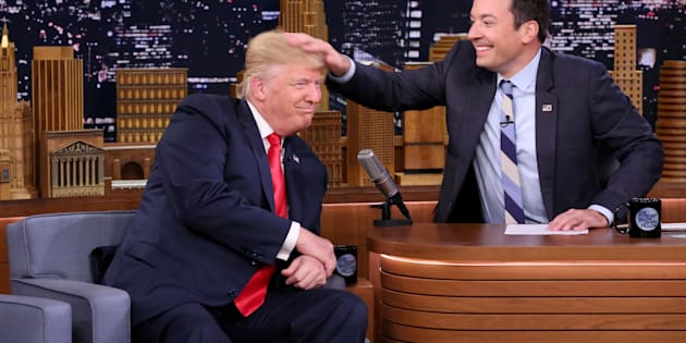 Viewership has been down for Fallon in the months since he had then Republican nominee Donald Trumpon for a playful interview.