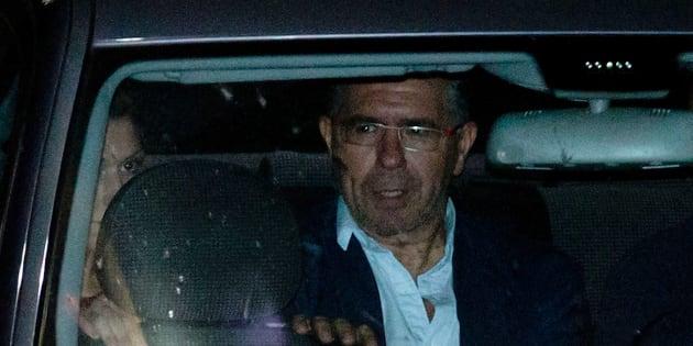 Francisco Granados, exsenador del PP, al salir de la comisaría de Majadahonda. Gonzalo Arroyo Moreno/Getty Images