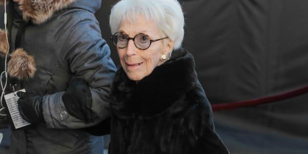 Janine Sutto est décédée en mars 2017 à l'âge vénérable de 95 ans.