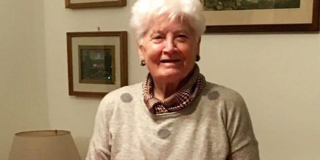Anna Carla Arecco la pensionata scomparsa da casa da tre giorni � stata ritovata cadavere sotto il letto nella  camera della casa dei vicini a Genova, 2 maggio 2017. ANSA/LUCA ZENNARO