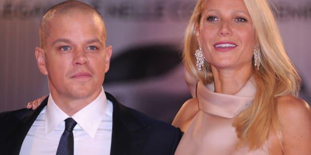 Matt Damon y Gwyneth Paltrow, en el Festival de Venecia en septiembre de 2011.