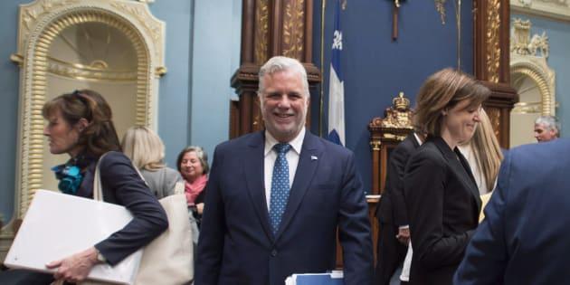Philippe Couillard procède à un important remaniement de son cabinet