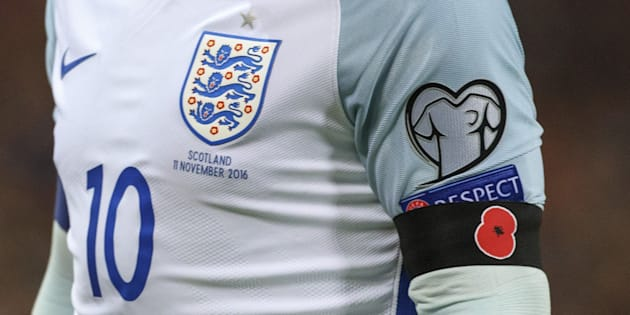 England and Scotland players could be disciplined by Fifa for wearing poppies during their World Cup qualifier